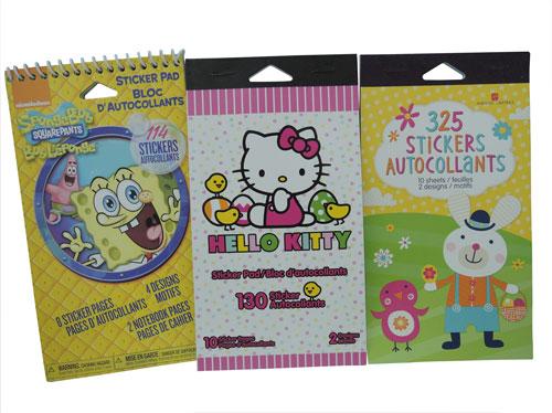 collection sticker books for kids u cheer. Black Bedroom Furniture Sets. Home Design Ideas